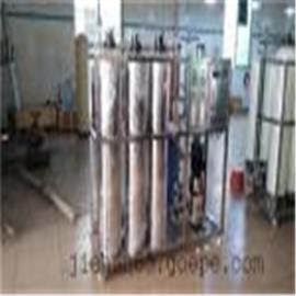 洁涵水处理设备―0.5T/HRO不锈钢管道反渗透纯水系统