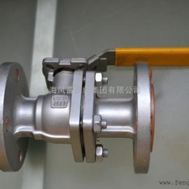 风雷牌 带手柄碳钢球阀Q41F