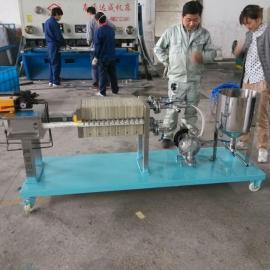 上海厂家直销板框压滤机,移动式手动液压框压滤机品质保证