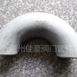精品不锈钢GB/T12459对焊接式180°度冲压弯头