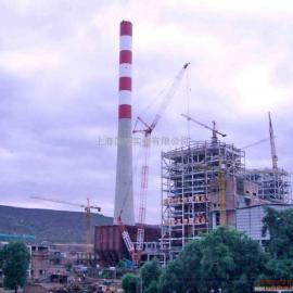 上海热电厂烟囱防腐