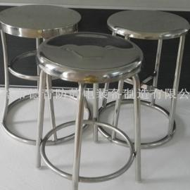 不锈钢圆凳东莞防静电厂家、可升降不锈钢净化圆椅直销广东