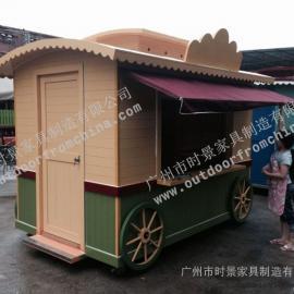德兴游乐园售货车,景德镇广场售货亭,南昌步行街手推车
