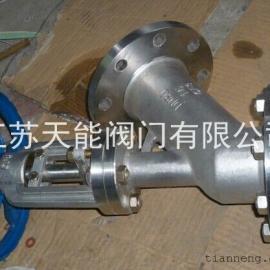 FL41W-16P不锈钢下展式放料阀