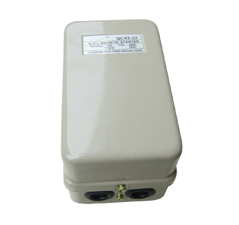 磁力启动器QCX5 22 22如何接线 空压机图片