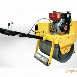 手扶式小型柴油压路机 柴油版小型压路机
