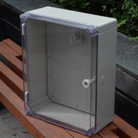 500*400*195透明盖防水箱