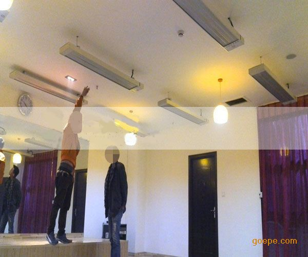 电热幕 高温静音电热幕 远红外辐射采暖器 高温加热设备-远红外电热幕