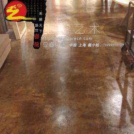 混凝土着色地坪 混凝土着色地坪材料 混凝土着色地坪施工