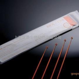 无菌10ul接种环 橘色 消毒接种环 聚苯乙烯接种环