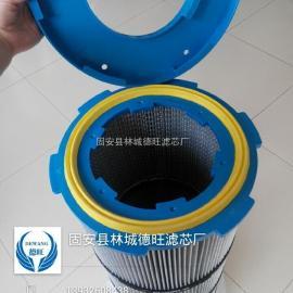 供应覆膜防静电六耳快拆式除尘滤芯 厂家直销 价格量大从优