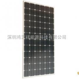 300W36V单晶硅太阳能电池板组件厂家
