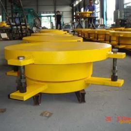 厂家免费设计桁架连廊网架刚屋顶用KQGZ系列抗拔球型支座