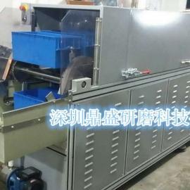 深圳市鼎盛研磨 供应 全自动流水线式磁力研磨机