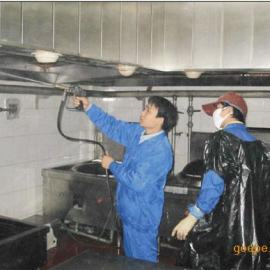 专业清洗抽油烟机厨房排烟管道