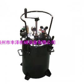 厂家直销40升手动搅拌压力桶油漆搅拌桶压力罐