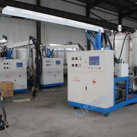 天津旭迪牌高压发泡机每秒流量3600g聚氨酯高压发泡设备