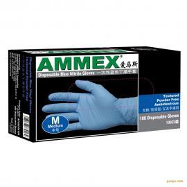 AMMEX 爱马斯一次性丁腈手套 中号