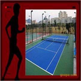 **承接苏浙皖等地区环保弹性防滑丙烯酸网球场地坪施工