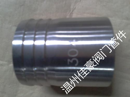 供应304不锈钢内丝/外丝皮管接头 竹节式宝塔型水管接头