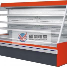 厂家直销上海欣蒙立式保鲜柜 水果保鲜柜 展示柜 冷藏柜