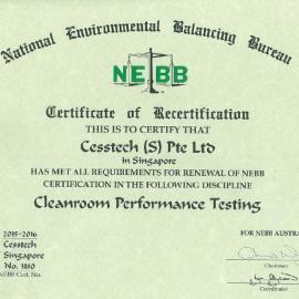无尘室厂房第三方NEBB测试认证