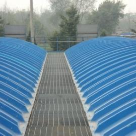 养殖场污水除臭盖板/拱形盖板规格/华强直销厂家