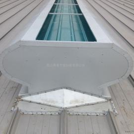 温州顺坡圆弧型气楼