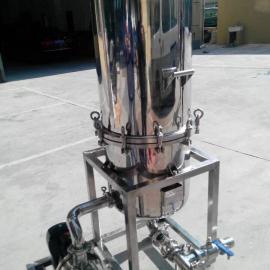 不锈钢立式硅藻土过滤器。