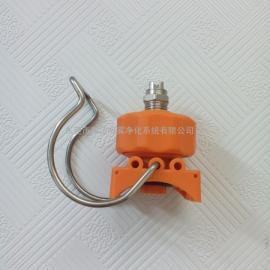 供应工业喷嘴 夹扣喷嘴喷头 喷淋前处理喷头 质量保证