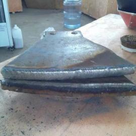 搅拌机浆叶耐磨堆焊