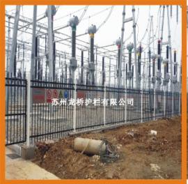 佳木斯锌钢围墙护栏/工厂围墙栅栏/企业围墙栅栏龙桥护栏直销