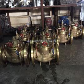 温州200X黄铜可调减压稳压阀
