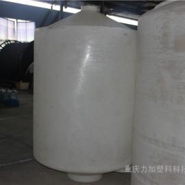 尖底立式盐酸储罐 锥底硫酸贮罐 尖底耐酸碱存储罐