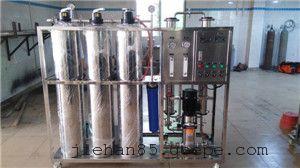 宜宾市500L/H不锈钢管道反渗透纯水系统