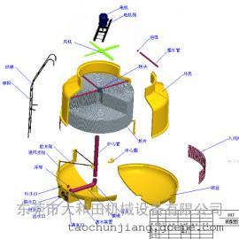 玻璃钢冷却水塔,60T冷却水塔,圆型冷却水塔,冷却水塔厂家
