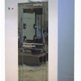 自动双开平移门货淋室定制安装