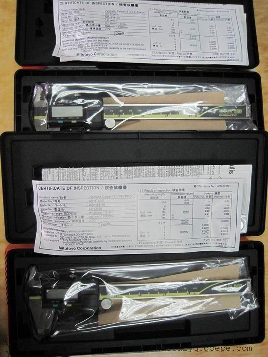 三丰数显卡尺500-196,现货促销