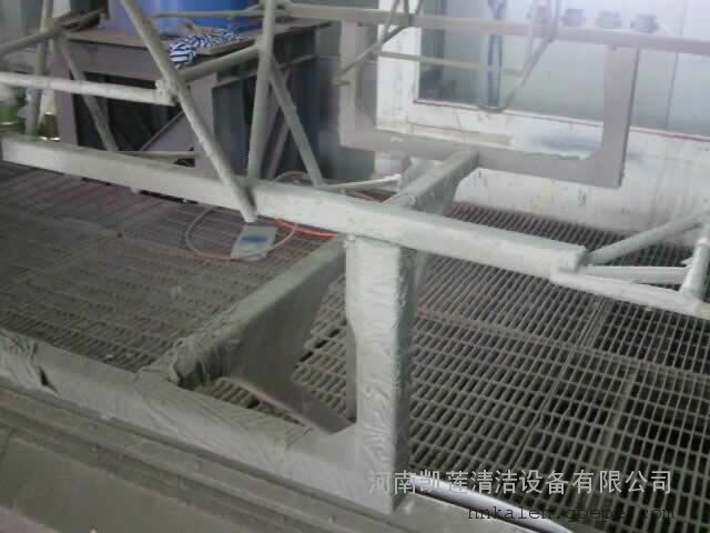 钢铁旋转窑结皮清洗机  钢铁厂石灰石回转窑清洗机