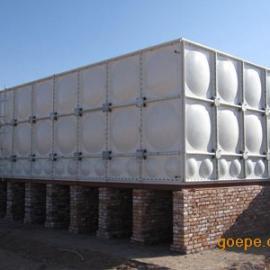 组合式玻璃钢水箱 拼接式玻璃钢水箱