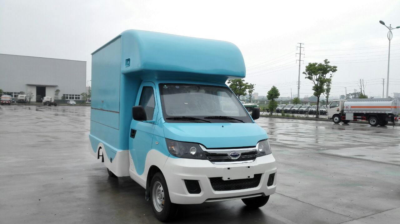 专用汽车 随州市博胜专用汽车工贸有限公司 产品展示 流动售货车 开