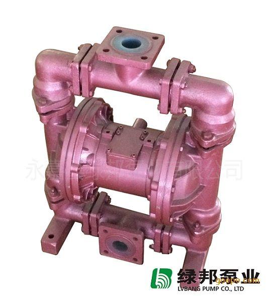 QBK-25CF全衬氟气动隔膜泵