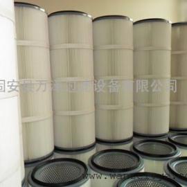 工业粉尘过滤滤芯滤筒 搅拌站防水除尘滤芯厂商