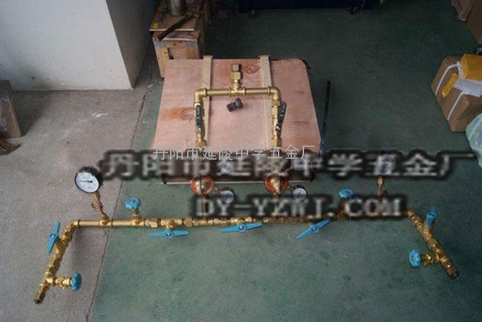 氢气槽车汇流排