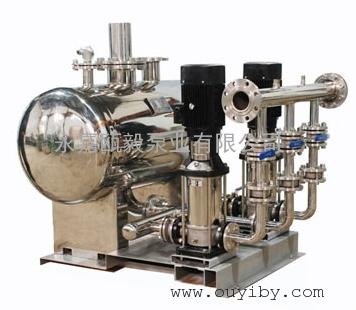 无负压供水设备,变频供水设备,变频增压机组