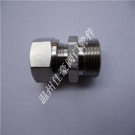 低价打造正宗304不锈钢单/双卡套式气动液压直通终端活接头
