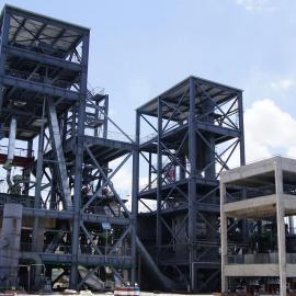 低阶煤过热蒸汽内加热流化床干燥系统