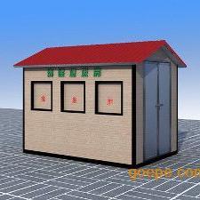 泉州移动垃圾房、钢结构流动垃圾屋厂家制作