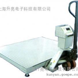 上海耀华手推式移动电子平台秤