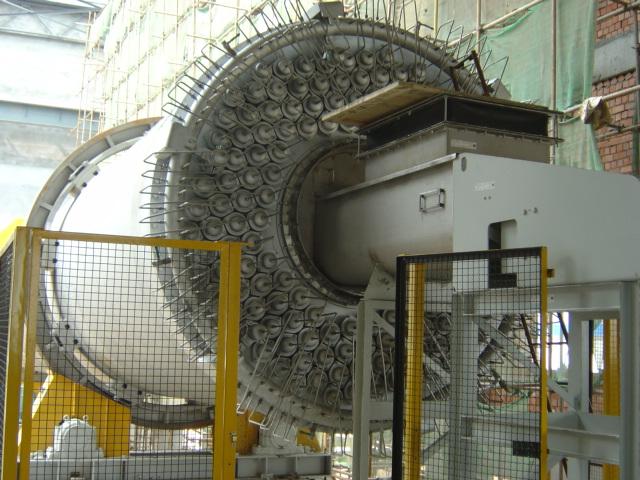 低阶煤氮气闭路直管式蒸汽回转干燥系统